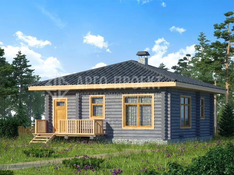 Готовые проекты и чертежи одноэтажных и двухэтажных