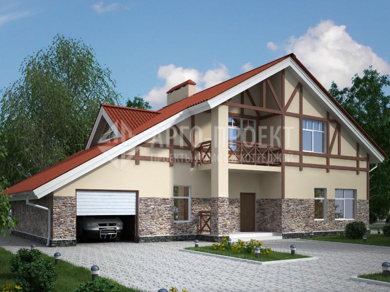 Каркасные дома с балконом в Минске - проекты, фото, цены
