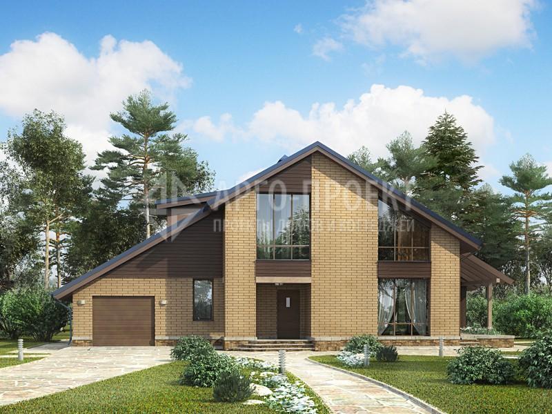 Проект одноэтажного дома 9х9