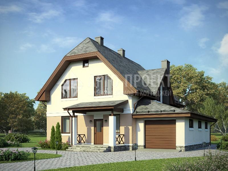 Проекты домов из пеноблоков бесплатно с фото