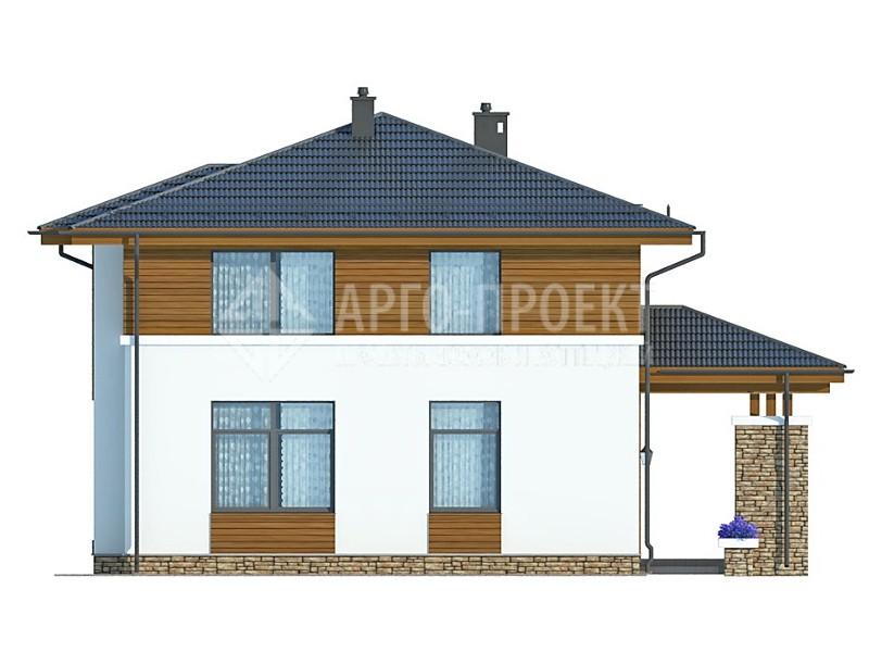 снят проект двухэтажного дома из пеноблоков стало известно